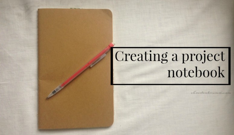 Creating a Project Notebook