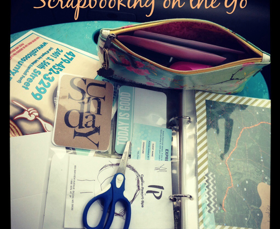 Scrapbooking on the Go