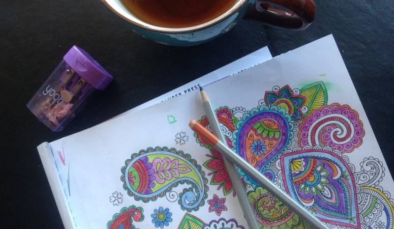 The One About Coloring Books